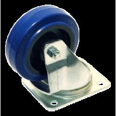 FireForge Swivel Castor PU (BLUE) FCS001-BPU, Castors