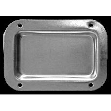 FireForge FRD101Z Plain Castor Dish